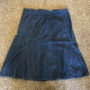 Cato Jean Denim Skirt